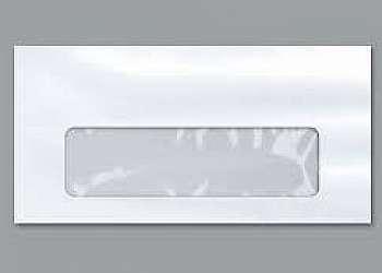 Envelopes com janela preço