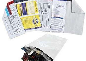 Envelope plastico segurança