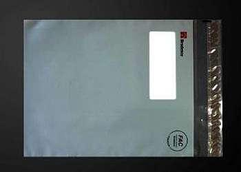 Envelope plastico janela adesiva
